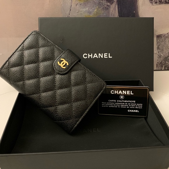 f0e706a54ce7 CHANEL Handbags - CHANEL Caviar Quilted Zipped French Wallet